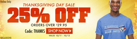 Lids Thanksgiving Day Sale - 25 Off Promo Code (Oct 11-13)
