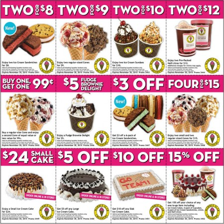 Marble Slab Creamery New Printable Coupons (Until Nov 30)