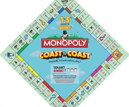 McDonald's Monopoly Coast to Coast