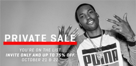 PUMA Private Sale - Up to 75 Off Sale Items + Free Shipping (Oct 21-22)