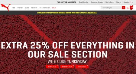 PUMA Sale on Sale - Extra 25 Off Sale Items Promo Code (Until Oct 12)