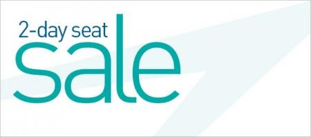 WestJet 2-Day Seat Sale (Oct 20-21)