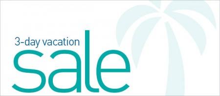 WestJet 3-Day Vacation Sale (Oct 6-8)