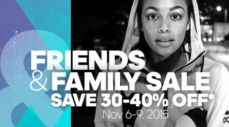 Adidas Friends and Family Sale - Save 30-40 Off (Nov 6-9)