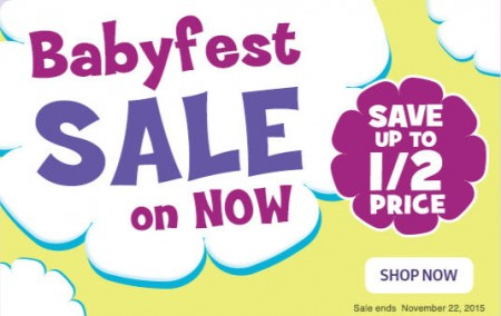 Babies R Us Babyfest Sale (Until Nov 22)