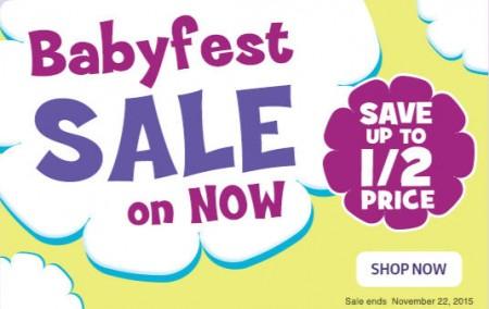 Babies R Us Babyfest Sale (Until Nov 22)