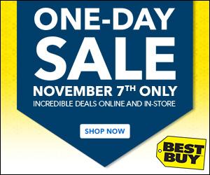 Best Buy One-Day Sale (Nov 7)