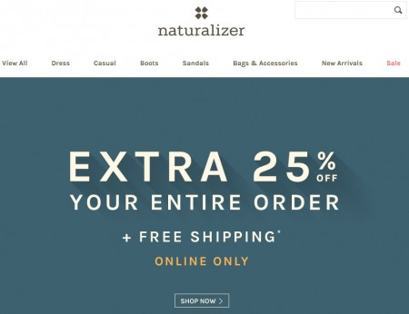 Naturalizer Cyber Monday Sale – 25 Off Sitewide Promo Code + Free Shipping (Nov 30)