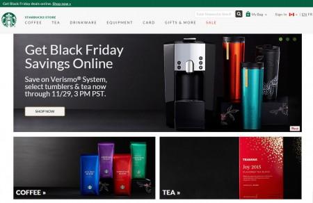 Starbucks Store Online Black Friday Sale (Nov 25-29)