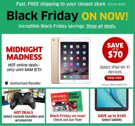 The Source Black Friday Sale on Now (Nov 26 - Dec 2)