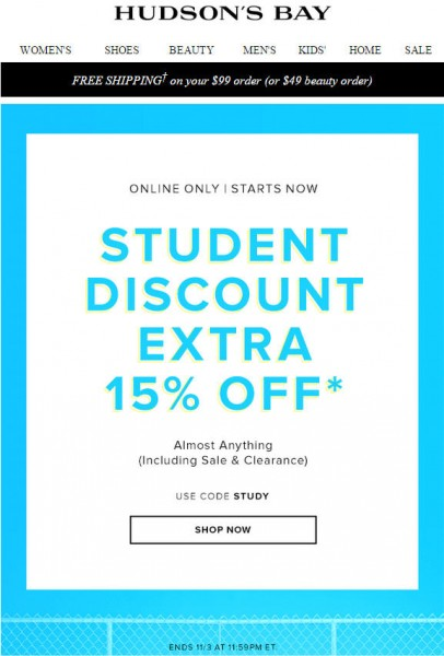 TheBay Today Only - Extra 15 Off Almost Anything Promo Code (Nov 3)