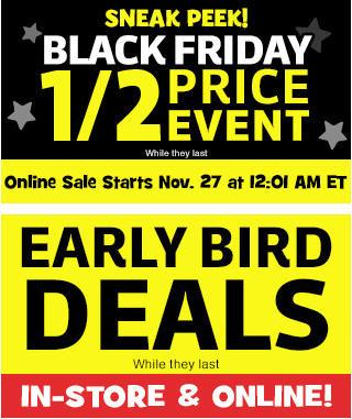 Toys R Us Black Friday Sale + Early Bird Deals Now (Nov 26-27)
