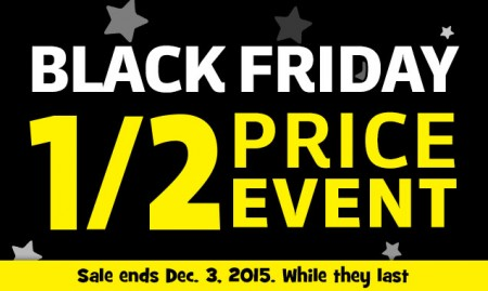 Toys r us black friday sale 1 2 price event nov 27 for Las vegas hotels black friday deals