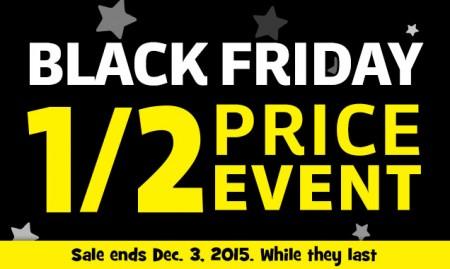 Toys R Us Black Friday Sale - Half Price Event (Nov 27 - Dec 3)