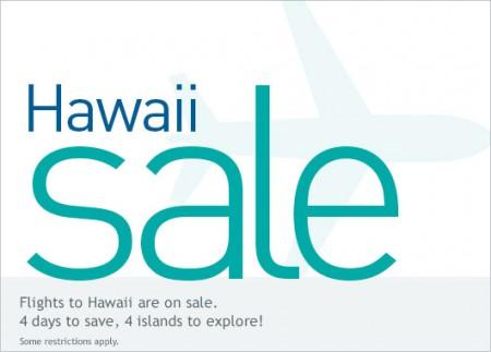 WestJet Hawaii Sale (Nov 3-6)
