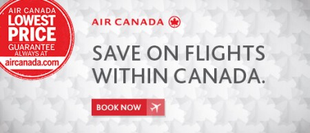 Air Canada Save on Flights within Canada (Book by Dec 20)