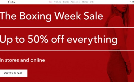 Aritzia Boxing Week Sale - Up to 50 Off Everything (Dec 24 - Jan 7)