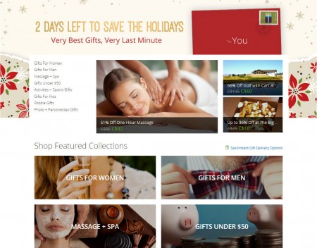 GROUPON 2 Days Left to Save - Very Best Gifts, Very Last Minute (Dec 23)