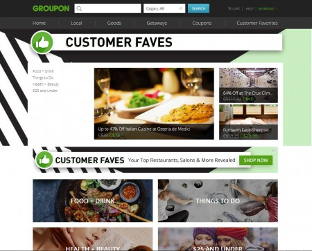 GROUPON Customer Faves - Top Rated Restaurant, Salon, Things To Do & More Deals