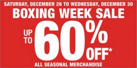Shoppers Drug Mart Boxing Week Sale - Up to 60 Off (Dec 26-30)