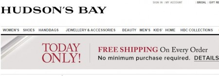 TheBay Today Only - Free Shipping on Every Order. No Minimum Purchase (Dec 18)