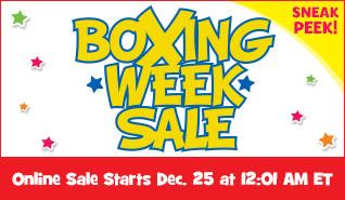 Toys R Us Sneak Peek at Boxing Week Sale Flyer (Dec 26-31)