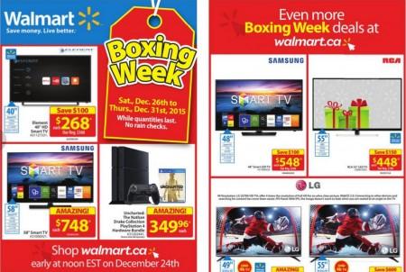 Walmart Boxing Week 2015 Flyer is here (Dec 26-31)