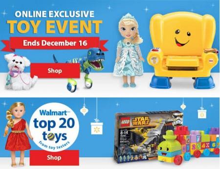 Walmart Online Toy Event (Until Dec 16)