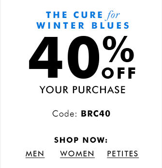 Banana Republic 40 Off Your Purchase Promo Code (Jan 17-18)