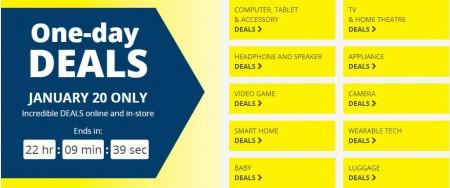 Best Buy One-Day Deals (Jan 20)