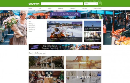 GROUPON Best of Groupon - Top Selling Deals and Popular Favourites
