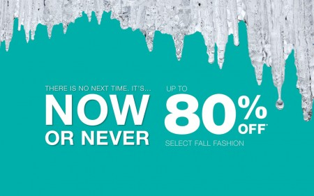 Holt Renfrew Now or Never Sale - Up to 80 Off Select Fall Fashion