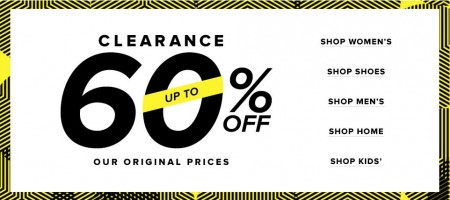 Hudson's Bay Clearance Sale - Up to 60 Off (Jan 1-7)