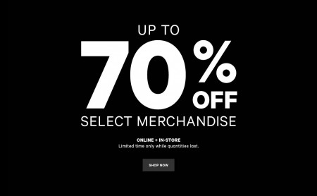 Joe Fresh Save up to 70 Off Select Merchandise