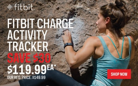 Sport Chek $30 Off Fitbit Charge Activity Tracker