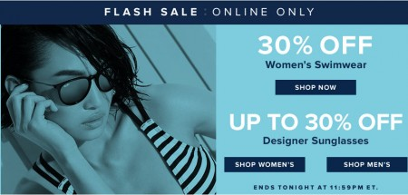 TheBay Flash Sale - 30 Off Women's Swimwear, Up to 30 Off Designer Sunglasses (Jan 27)