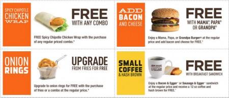 A&W Canada New Printable Coupons + Free Root Beer Coupon (Until Apr 10)