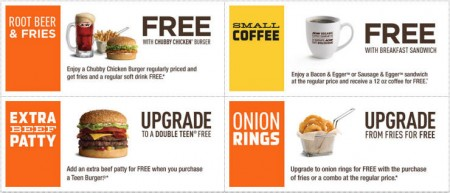 A&W Canada New Printable Coupons + Free Root Beer Coupon (Until Mar 13)