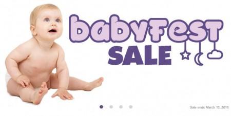 Babies R Us Babyfest Sale + $20 Off $100 Purchase Promo Code (Until Mar 10)