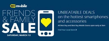 Best Buy Friends and Family Sale (Mar 12)