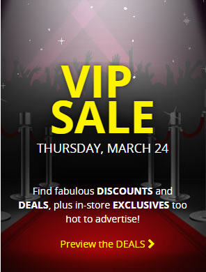 Best Buy VIP Sale In-Store and Online (Mar 24)