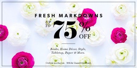 Chapters Indigo Fresh Markdowns up to 75 Off