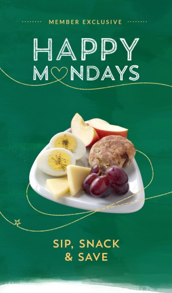 Starbucks Happy Mondays - 50 Off Any Food Item with Drink Purchase (Mar 14)