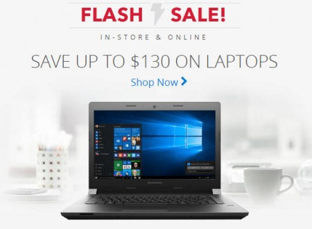 Best Buy Flash Sale - Save up to $130 on Laptops (Apr 13)