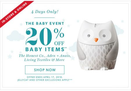 Chapters Indigo The Baby Event - 20 Off Baby Items (Apr 14-17)