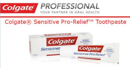 Colgate FREE Sample of Colgate Sensitive Pro-Relief Toothpaste