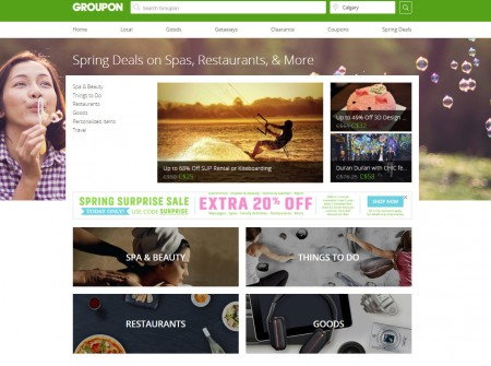 GROUPON Today Only - Up to Extra 20 Off Promo Code (Apr 11)