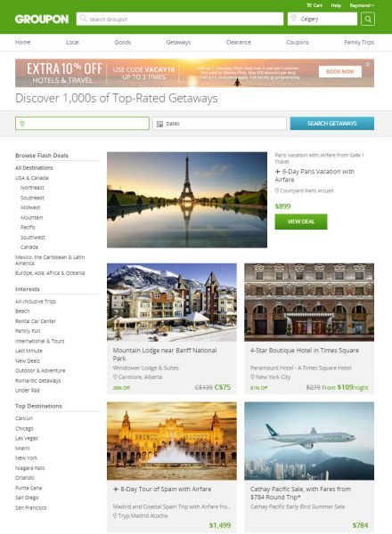 Groupon Today Only - Extra 10 Off Hotels & Travel Deals Promo Code (Apr 19)