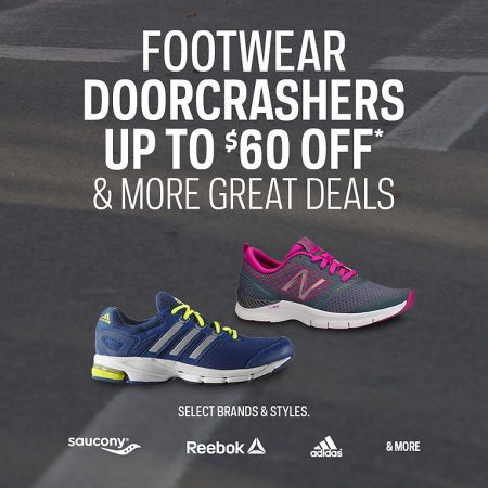 Sport Chek Footwear Doorcrashers - Up to $60 Off