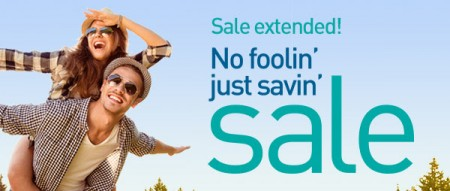 WestJet Sale Extended! No Foolin' Just Savin' Sale (Book by Apr 7)